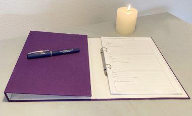 condoleance register
